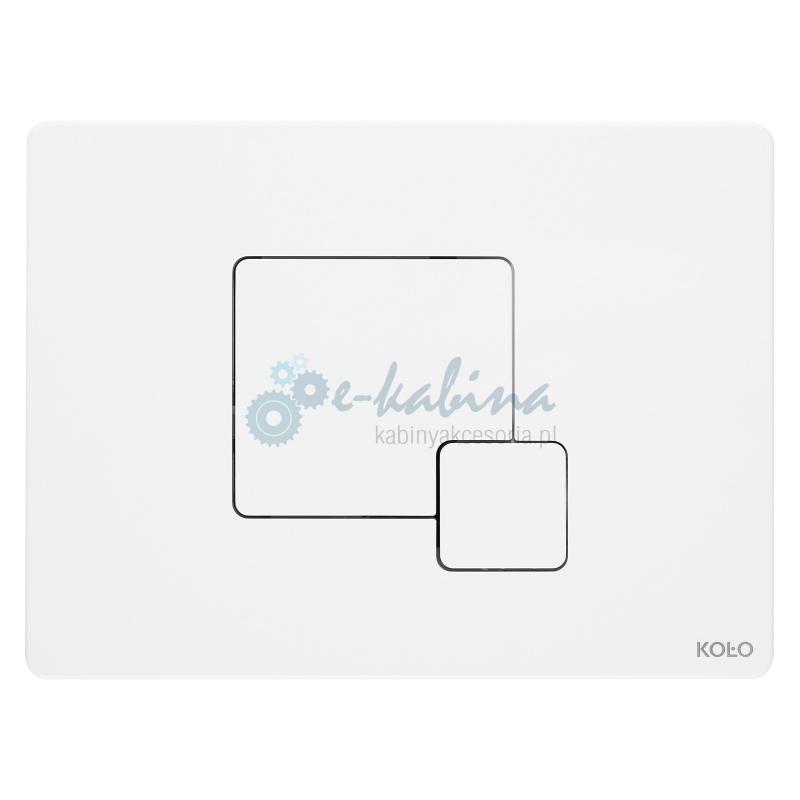UNIT 1 Przycisk uruchamiający Grid biały KOŁO 94173001