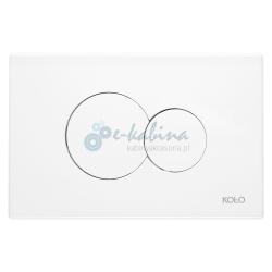 ECLIPSE przycisk spłukujący biały 94122001