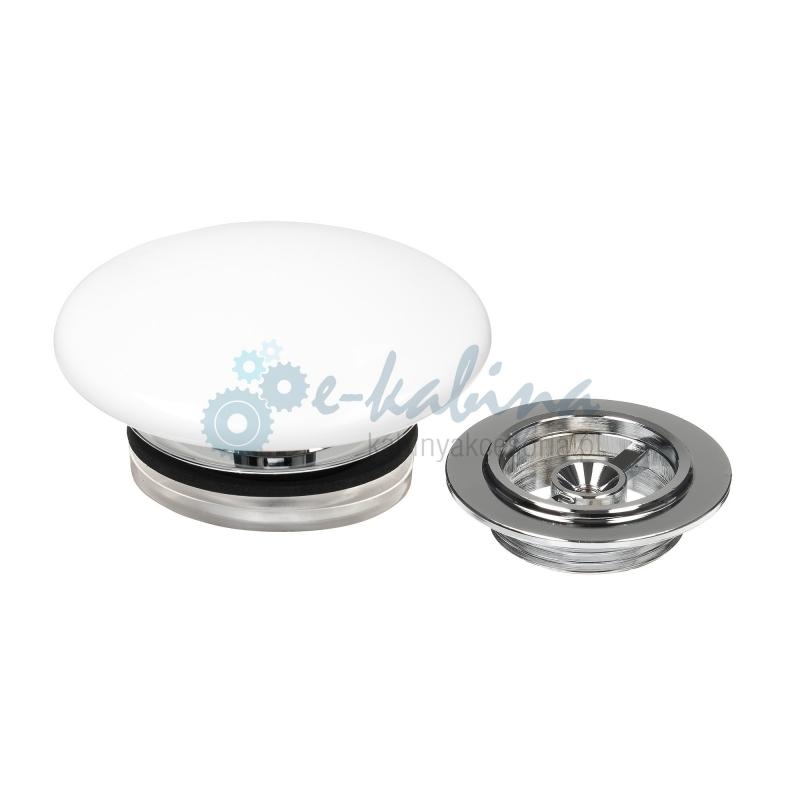 COCTAIL Odpływ z pokrywą ceramiczną do umywalek