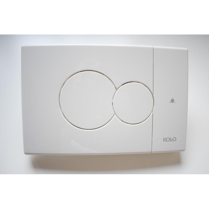 ECLIPSE przycisk spłukujący z opcją Smart Fresh biały KOŁO 94123001